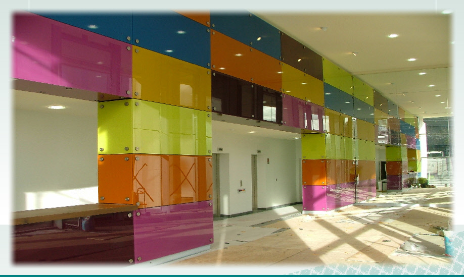 Paint Wall Cladding